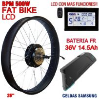 KIT FAT BIKE BPM-CST 500W BATERIA FR 14.5Ah