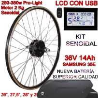 KIT PRO-LIGHT 250-350W CST LCD INTEGRA FR4 14Ah