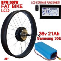 KIT FAT BIKE BPM-CST 500W BATERIA 36V 21Ah